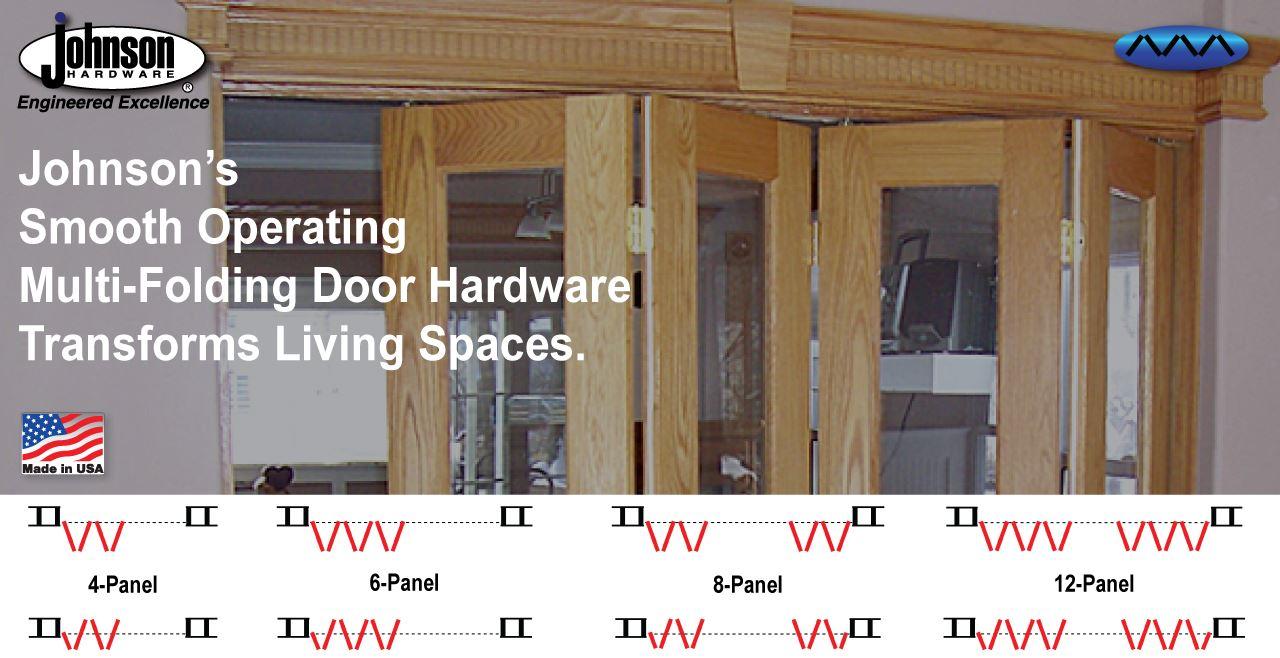 sliding folding pocket door hardware