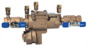 Backflow Reduced Pressure