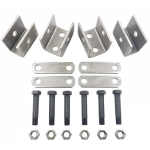 "Single Axle Hanger Kit - Fits 1.75"" Double Eye Springs - Part Number PS-HRK05 - Rockwell American"