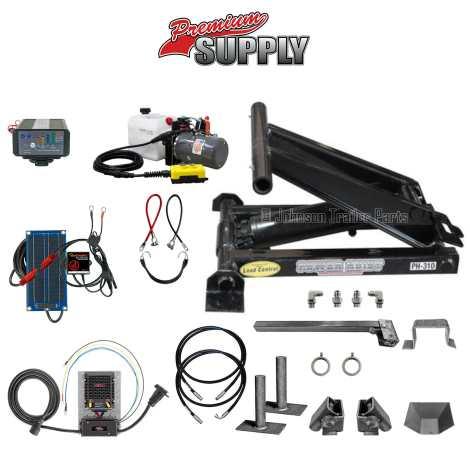 3 Ton Hydraulic Scissor Hoist Kit | PH310 Premium Kit