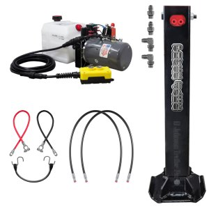 Single Hydraulic Trailer Jack Standard Kit
