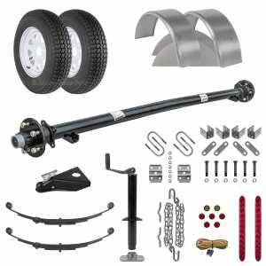 5 x 8 Utility Trailer Parts Kit - 3.5k - Model U60-96-35J
