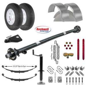 Utility Trailer Parts Kit - 3.5k - Model U60-120-35J
