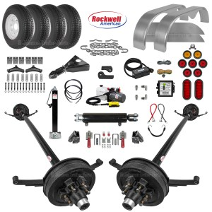 Hydraulic Tilt Trailer Parts Kit - 10.4k
