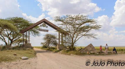 Entrance Gate to Serengeti National Park