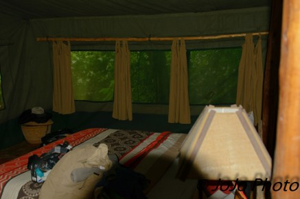 "Our tent ""Baboon"" at Kibale Forest Camp"