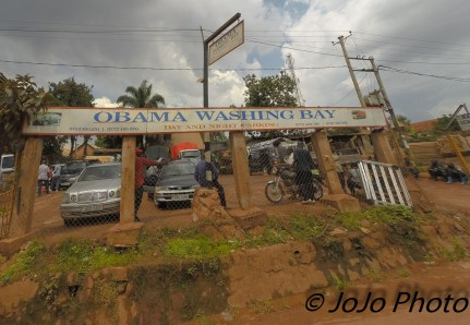 Car Wash in Busega, Uganda