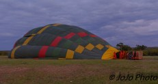 Hot Air Balloon in Serengeti