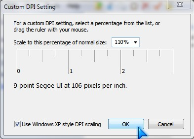 Type in a percentage greater then 100% like 101%+