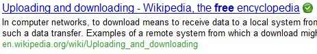 Norton Safeweb Search results