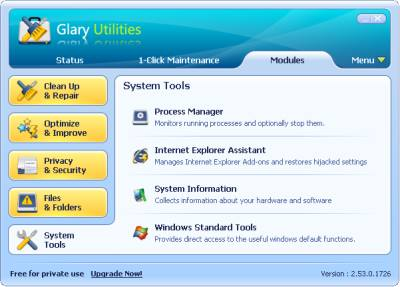 Glary Utilities 2.53