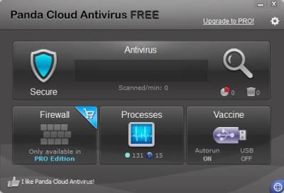Panda Cloud Antivirus 2.1