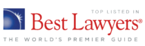 Top Listed in Best Lawyers, The World's Premier Guide