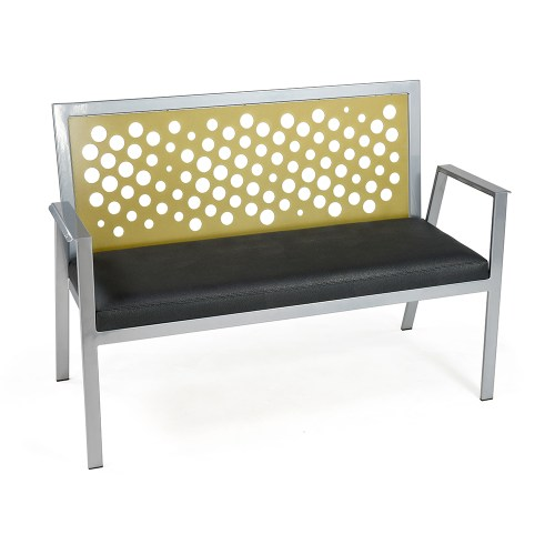 Luca Bench with Bubbles Insert