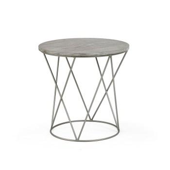 Calypso End Table, Wood