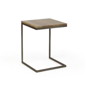 Modulus Accent Table - Wood Top