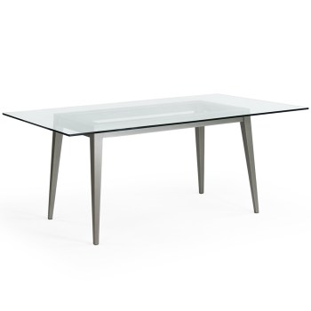 Maddox Rect. Table Base