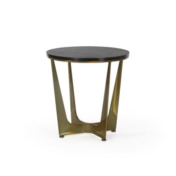 Connor Round End, Wood Top