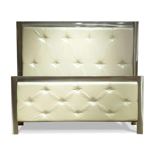 Ellum Tufted Queen Complete Bed