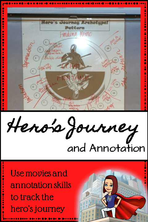 Hero's Journey Pin