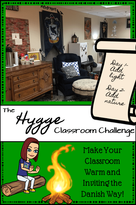 Hygge Classroom Challenge Pin