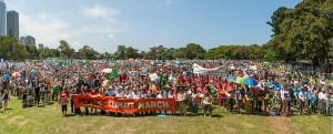 45,000 Assemble in Sydney's Domain for People's Climate March, 2