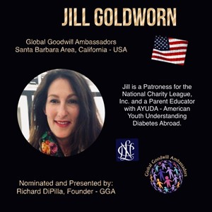 Jill Goldworn - Global Goodwill Ambassador