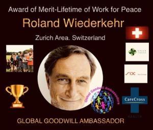 Roland Wiederkehr Global Goodwill Ambassador