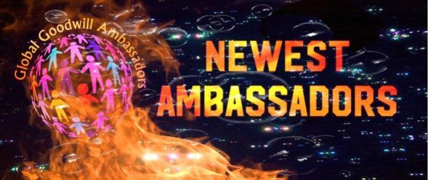 New Global Goodwill Ambassadors in April 2018