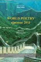 Cover photo of World Poetry almanac 2011
