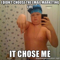I Didn't Choose the Email Marketing Life. It Chose Me.