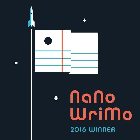 I won NaNoWriMo 2016