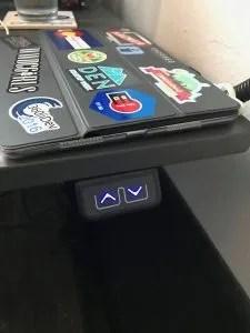 Jarvis basic desk controls