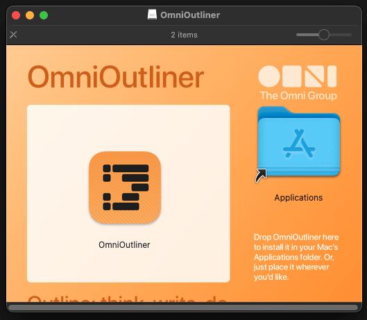 install omnioutliner