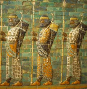 babylonian warriors