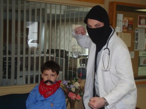 A Day in the Office: A Dr. McNinja Cosplay Story (1/6)