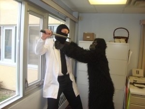 A Day in the Office: A Dr. McNinja Cosplay Story (5/6)