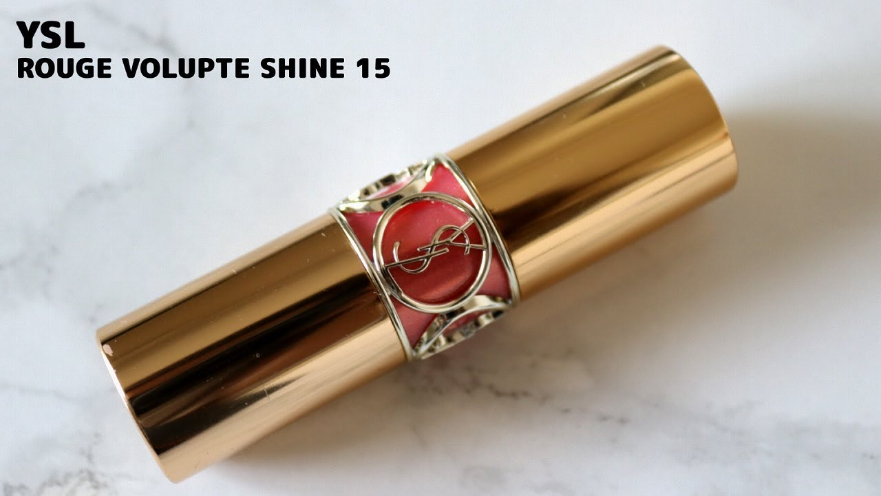 YSL ROUGE VOLUPTE SHINE15 婚活リップ #婚活 #followme