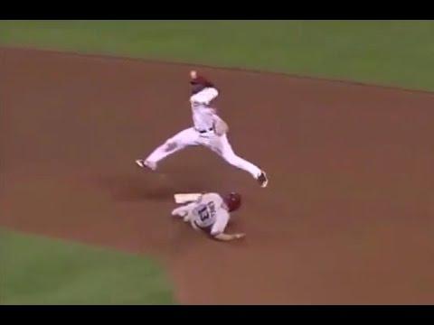우주 최고의 2루 수비 기쿠치 료스케(NPB) VS 브랜든 필립스(MLB) #スポーツニュース #followme