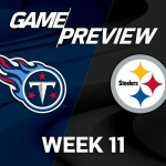 Tennessee Titans vs. Pittsburgh Steelers | NFL Week 11 Game Preview | NFL Playbook #スポーツニュース #followme