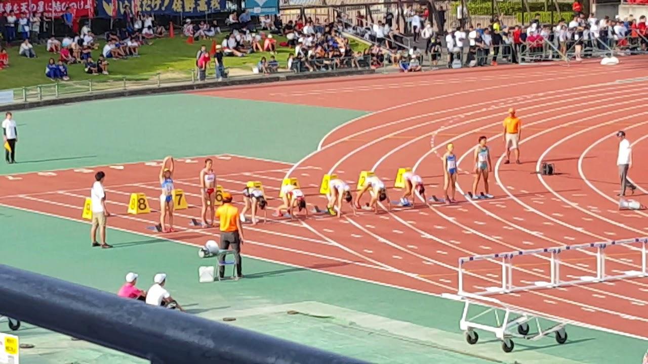 第71回大阪高校陸上女子100mH決勝 #スポーツニュース #followme
