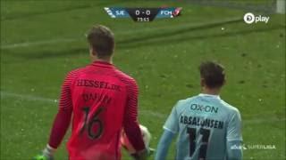 GKが珍事起こす ゴールキックをキャッチ!デンマーク スーパーリーグ #トラベル #旅行 #followme