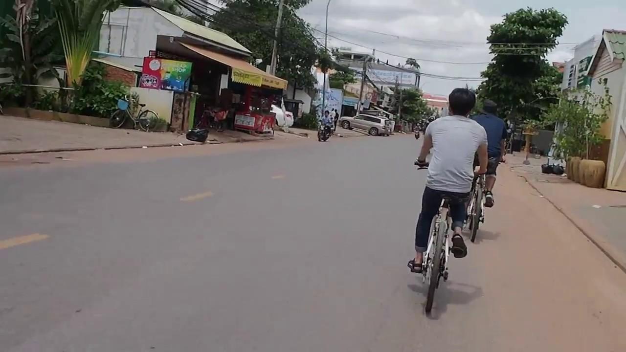 【Siem Reap】 シェムリアップでサイクリング【自転車レンタル】 #トラベル #旅行 #followme