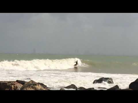 Surf danang! ベトナム ダナンでサーフィン ベトナム ダナン surf vietnam ナムオー #トラベル #旅行 #followme