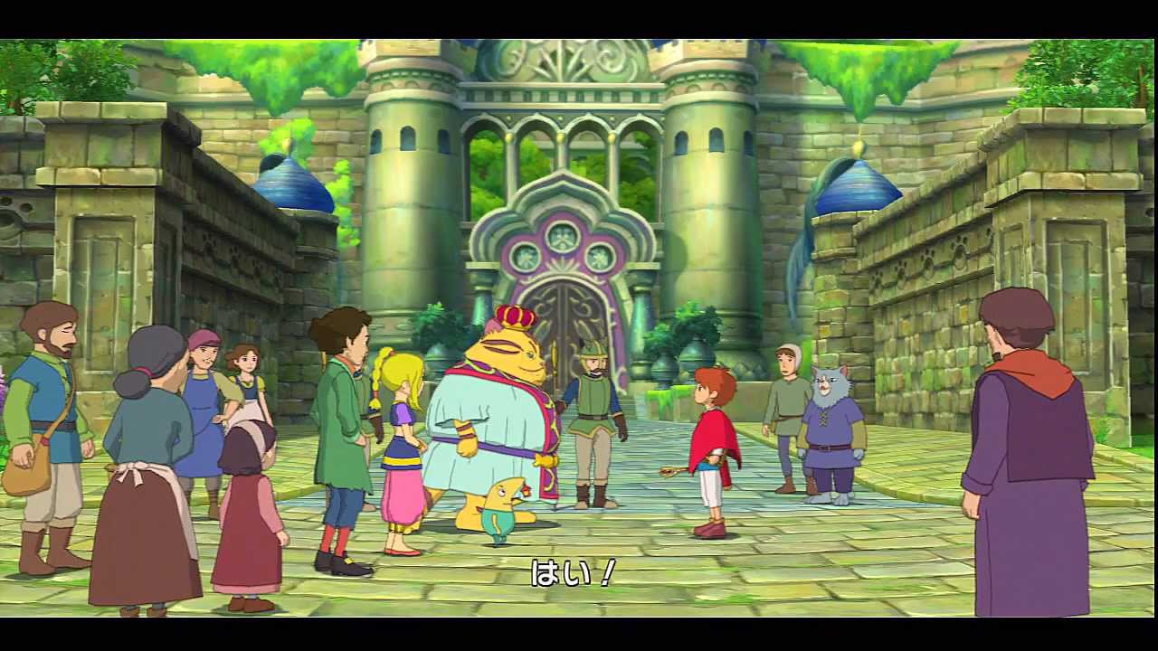 Ni no Kuni: Wrath of the White Witch – The Unofficial Movie 「only ~40min of EN Fan Subs」 #ディズニー #Disney #followme