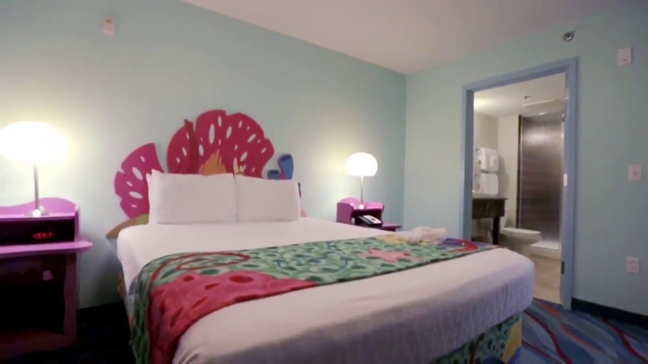 ディズニー・アート・オブ・アニメーション・リゾート | ニモの部屋(フロリダ) #ディズニー #Disney #followme
