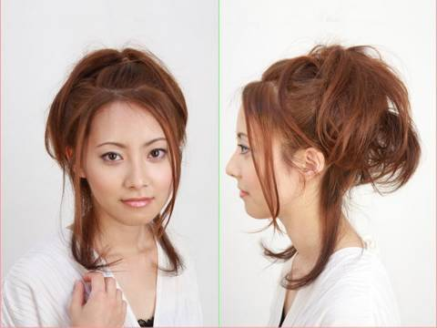 リラックスカールアップ Relaxation Carl's up casual hair tutorial #トレンド #followme