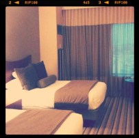 Hotel room for the night. Hoodstock is empty after all.