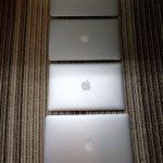 4台のMacbook Airのうち3台が壊れたので修理を試みた。
