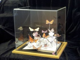 Butterfly Illustrated 2012 - Jo Howe, Book Sculpture